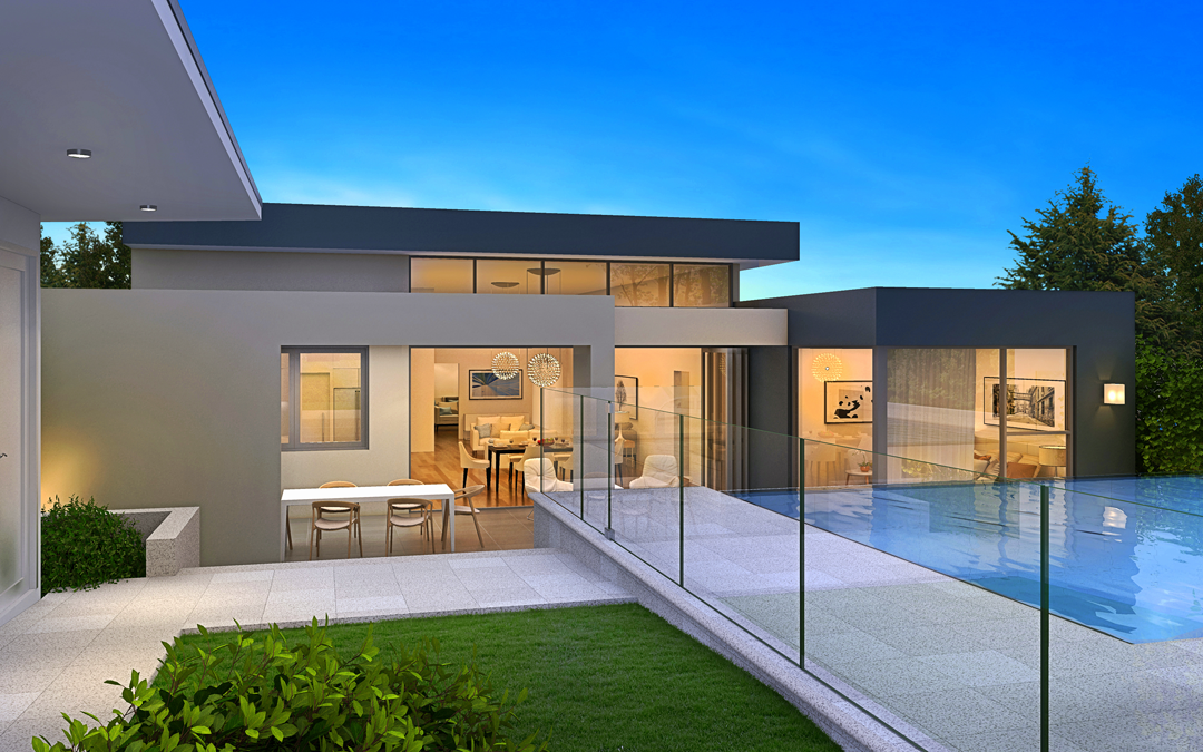 Luxurious and modern home designs sydney new home for Modern design building services