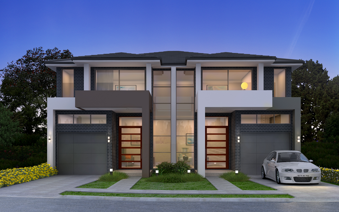 Duplex home designs sydney home review co for Dual occupancy home designs sydney